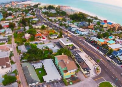 Aerial Video of St. Pete Beach, Florida
