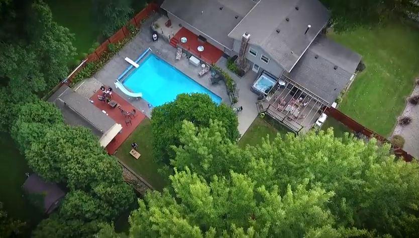 Brett H Home Aerial
