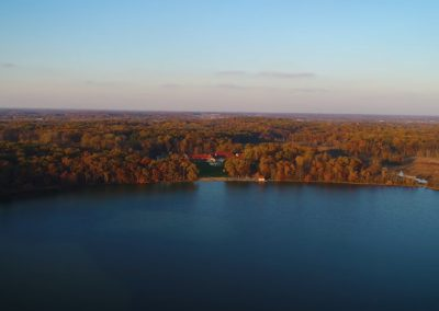 Steuben County, Indiana – Fall Beauty from a Birds Eye View
