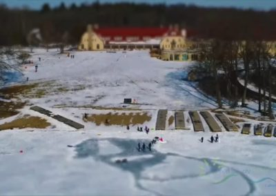 Toboggan Run and Potawatomi Inn Winter Fun Video